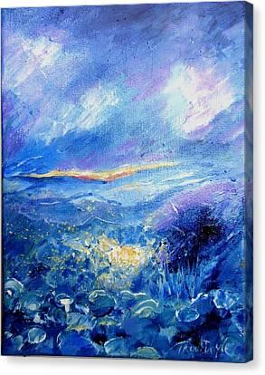 Will O' The Wisp  Canvas Print by Trudi Doyle