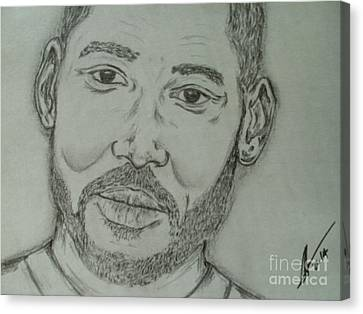 Will Smith Canvas Print by Collin A Clarke