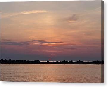 Will The Sun Rise Canvas Print by Andrea Mazzocchetti