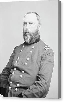 William A. Hammond Canvas Print by Library Of Congress