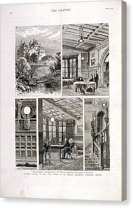 William Armstrong's Home Canvas Print by British Library
