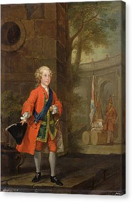 William Augustus, Duke Of Cumberland Dated Canvas Print