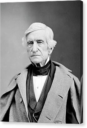 William Barton Rogers Canvas Print by Library Of Congress