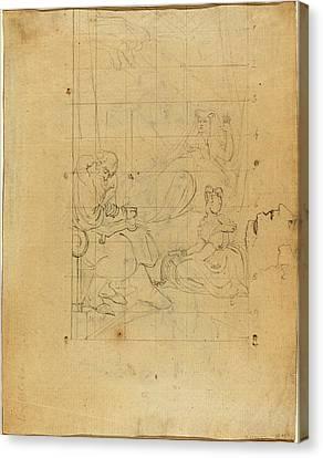 Blake Canvas Print - William Blake After Henry Fuseli, British 1757-1827 by Litz Collection