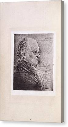 William Blake Canvas Print by British Library