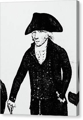 William Brodie (d Canvas Print