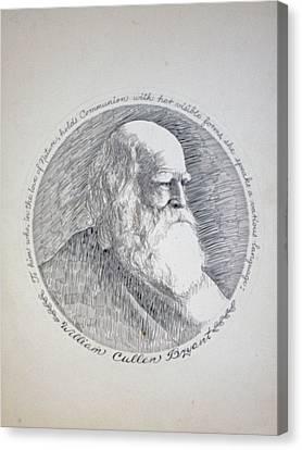 William Cullen Bryant Canvas Print