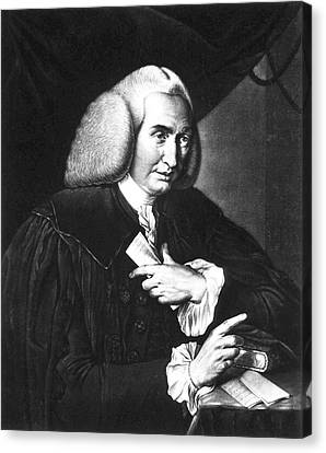 William Cullen Canvas Print by National Library Of Medicine