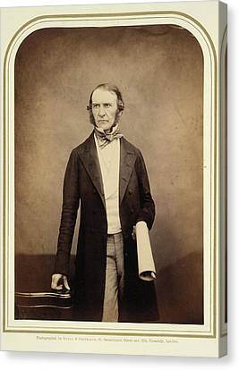 William Ewart Gladstone Canvas Print by British Library