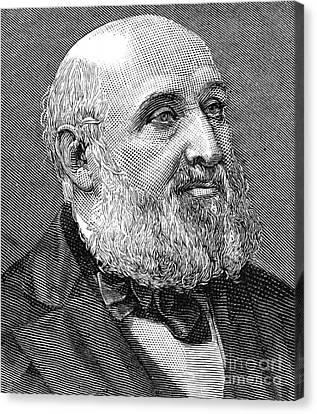 William Farr (1807-1883) Canvas Print by Granger