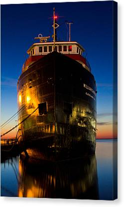 William G. Mather Maritime Museum Cleveland Ohio Canvas Print by John McGraw