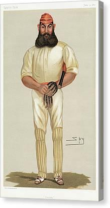 William Gilbert Grace (1848-1915) Canvas Print
