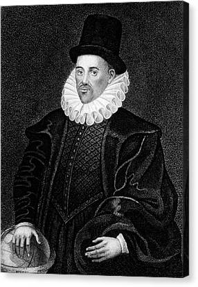 William Gilbert Canvas Print by National Library Of Medicine