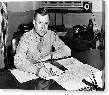 William H. Tunner Canvas Print by Us Air Force