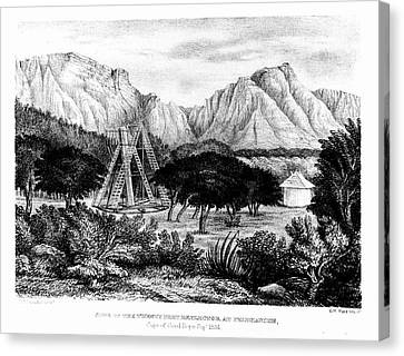 William Herschel's 20ft Telescope Canvas Print by Universal History Archive/uig