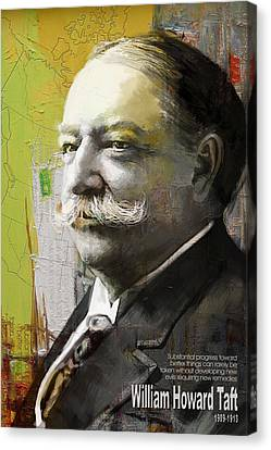 James Madison Canvas Print - William Howard Taft by Corporate Art Task Force