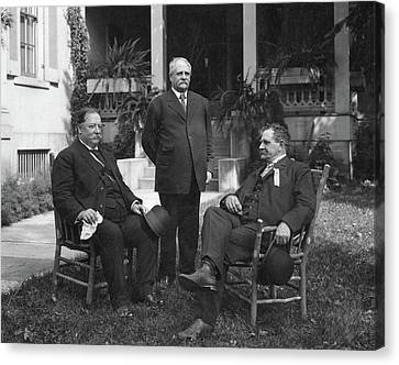 William Howard Taft(1857-1930) Canvas Print by Granger