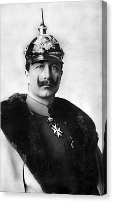 William II Of Germany (1859-1941) Canvas Print by Granger