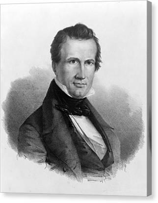William Jordan Graves (1805-1848) Canvas Print by Granger