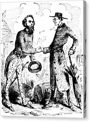William Lloyd Garrison (1805-1879) Canvas Print