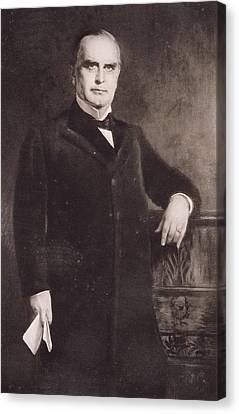 William Mckinley Canvas Print by American School