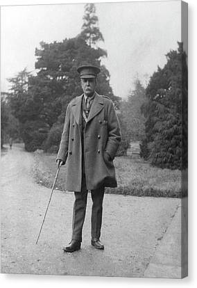 William Osler During The First World War Canvas Print