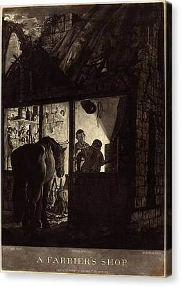 William Pether After Joseph Wright Of Derby Canvas Print