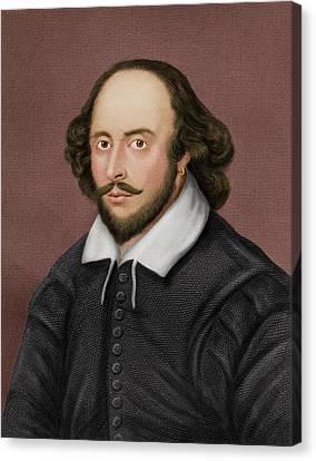 William Shakespeare Canvas Print