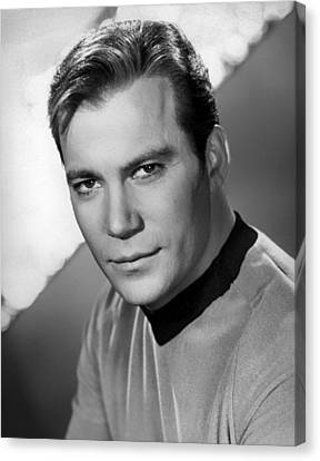 William Shatner Canvas Print by Mountain Dreams