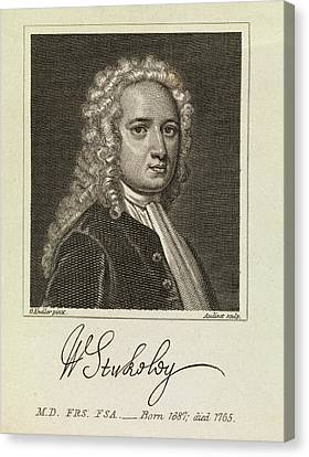 William Stukeley Canvas Print by Middle Temple Library