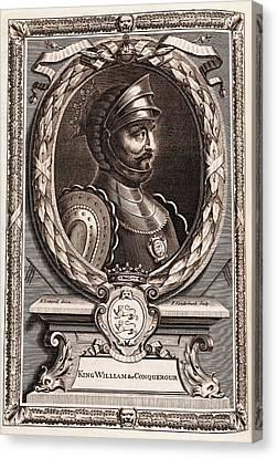 William The Conqueror Canvas Print
