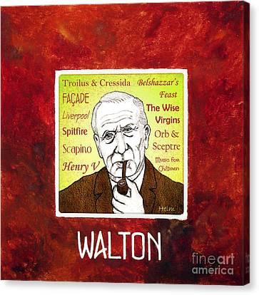 William Walton Canvas Print by Paul Helm