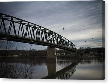 Williamstown Bridge Canvas Print