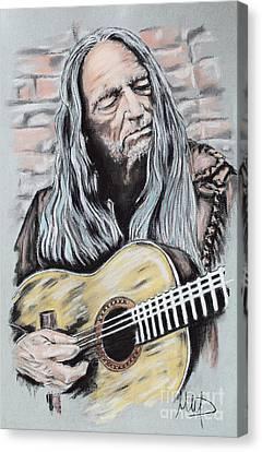 Willie Nelson Canvas Print