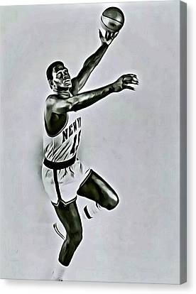 Willis Reed Canvas Print by Florian Rodarte