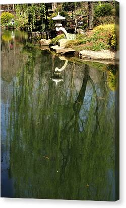 Willow Reflection 2 Canvas Print