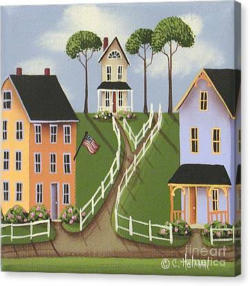 Willowick Canvas Print by Catherine Holman