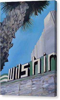 Wilshire Canvas Print by Lindsay Frost