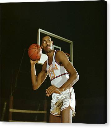 Wilt Chamberlain Perhaps The Best Ever Canvas Print by Retro Images Archive