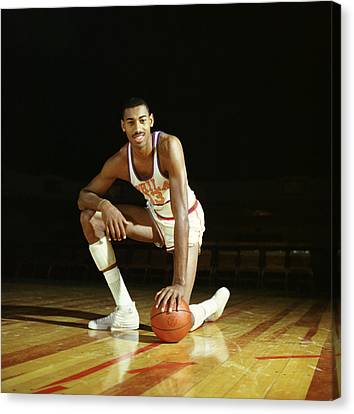 Wilt Chamberlain Canvas Print by Retro Images Archive
