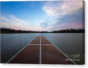 Wimbledon Park Sunset Canvas Print by Matt Malloy