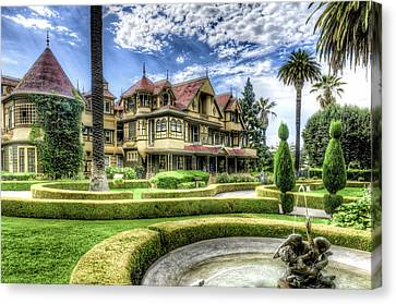 Winchester Mystery House Canvas Print by Jim Thompson