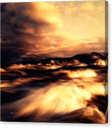 Wind And Water Canvas Print by Bob Orsillo