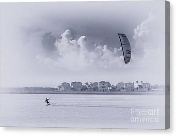 Wind Beneath My Wing Canvas Print by Marvin Spates