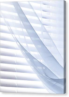 Wind Blue Window Canvas Print by Bob Orsillo