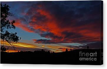 Black Hills Sunset Canvas Print