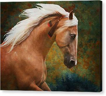 Wind Chaser Canvas Print by Melinda Hughes-Berland