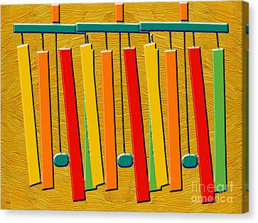 Wind Chimes Canvas Print by Patrick J Murphy