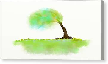 Wind Canvas Print by Len YewHeng