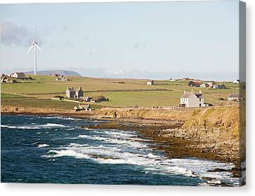 Wind Power Canvas Print by Ashley Cooper